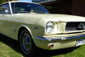 Ford Mustang 1966 2D Hardtop 3 SP Automatic 4 7L Carb Seats in Ingle Farm, SA