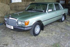 MERCEDES 450 SEL 4.5 V8 1980 S CLASS, LOW MILES, IMMACULATE CONDITION LOOK LOOK