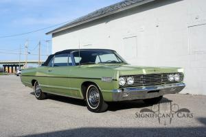 1967 Mercury S55 Convertible - 1 OF 1! Known History!