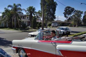 Red /White 1956 Mercury montclair,Original convertible