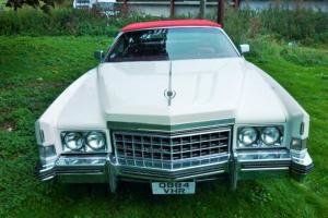 Cadillac Eldorado 1973 8.2lt convertible