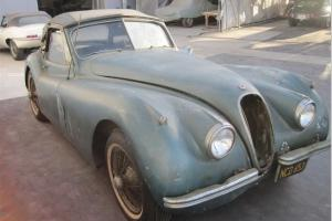 Jaguar XK120 Drop Head Coupe 3.4 sold with full nut and bolt restoration