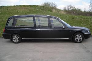 ROVER 75 HEARSE NOT LIMOUSINE NO RESERVE