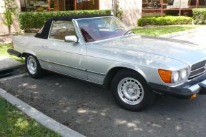Head Turning Classic 1979 Mercedes 450SL Luxury Roadstr