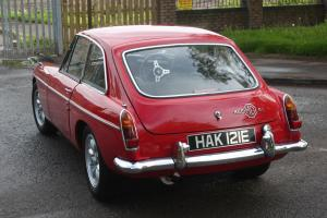 SUPERCHARGED 1967 MGB GT - MOT'd and Taxed, Red, excellent order, MGBGT BGT Photo