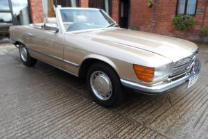 1985 Mercedes 280SL stunning car 2746cc beautiful champagne/cream leather R107