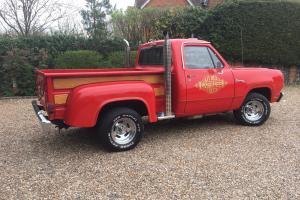 Dodge Lil' Red Express 1979 Mopar engine Side step truck, pick-up, PX