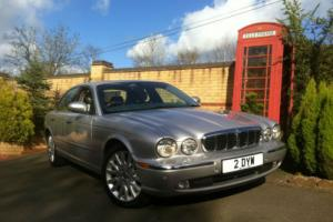 2003 53 Jaguar XJ8 3.5 SE V8 Automatic Silver XJ Series FSH ** 2 Owners **