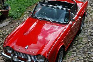 1962 Triumph TR4 - major refurbishment, thousands spent - original RHD car