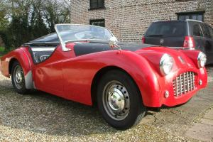 TR3 DRIVES WELL VERY QUICK LHD UK REGISTERED, READY TO USE