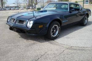 1975 Trans Am 455 4 speed blue with blue int nice car