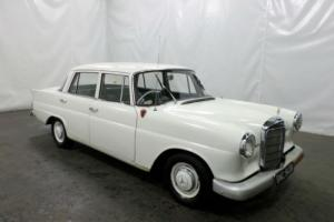 STUNNING CLASSIC 1964 MERCEDES-BENZ 190 W110 HECKFLOSSE FULL LEATHER FINANCE PX