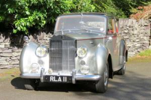 1955 Rolls-Royce Silver Dawn Automatic Saloon SVJ125