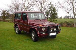 Mercedes G Wagon. 300 GD M2. 2 door. Red. 98k miles, 1985.