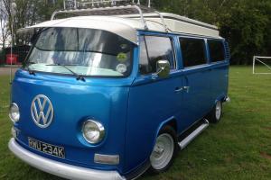 VW CAMPER BAY WINDOW 1972 DEVON TAX EXEMPT