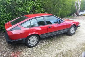 1983/A Alfetta GTV 2000 only 59,900 miles from new, immaculate
