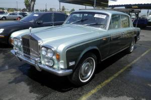 1975 ROLLS-ROYCE SHADOW SILVER GREEN