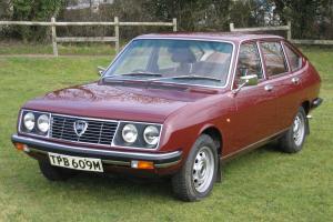 1973 Lancia Beta Series 1 1600 Saloon