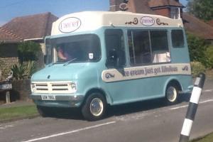 Classic Bedford CF Morrisons Ice-Cream Van