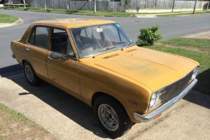Datsun 1200 1971 4D Sedan 4 SP Manual 1 2L Carb in White Rock, QLD Photo