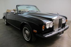 1979 Rolls Royce Corniche Convertible - with 50,871 original miles