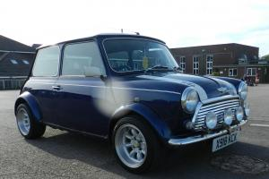 *Mini Cooper Classic, 21k miles, year 2000, Tahiti blue! Immaculate condition!* Photo