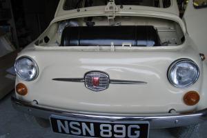 Fiat 500F Classic Fiat 500f 1968 Round Speedo Full Restored Fiat 500f Ready Soon