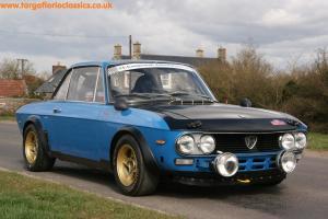 1972 LANCIA FULVIA MONTECARLO GR 4 RALLY/RACE CAR, HTP Papers, Ali hoods