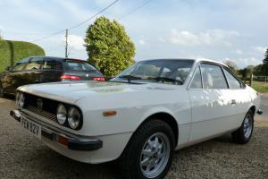 1979 LANCIA BETA 2000 WHITE
