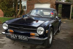 Triumph TR6 - Blue Photo