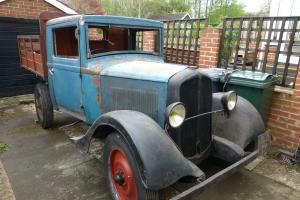 1932 RENAULT UY PICKUP BLUE/BLACK  Photo