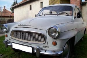 Skoda Octavia 440 Spartak 1957 classic oldtimer veteran old timer car