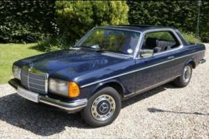 Mercedes-Benz 230 Ce Pillarless Coupe PETROL MANUAL 1983/Y