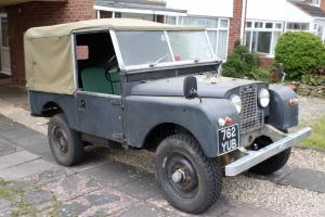 "Landrover series 1 1956 86"" very original,fitted with a new galvanised chassis"