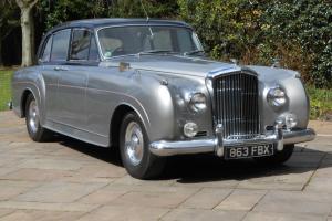 1957 BENTLEY S1 MULLINER 6 light aluminium special saloon 1 of 12 Contiental