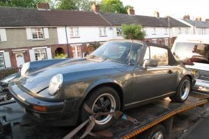 1971 PORSCHE 911E TARGA BARN FIND MATCHING NUMBERS PROJECT CONVERSION CABRIOLET
