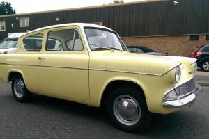 FORD ANGLIA 105e DELUXE 1965 3 OWNERS BARE METAL PAINT OVERHAUL