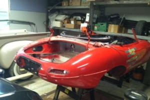 Jaguar E type 1968 roadster, matching numbers, 98% complete, opportunity!!!