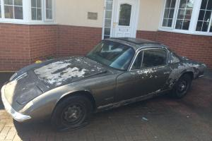 1968 Lotus Elan 2+2 Restoration Project Barn Find