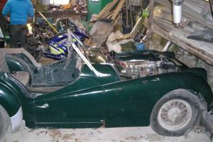 Triumph TR3A not MGA, AUSTIN HEALEY, JAGUAR