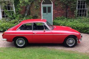 MG B GT 1800C Red
