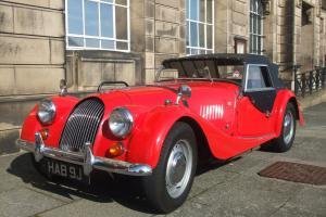 Morgan 4/4 1600 classic vintage sports car 1971