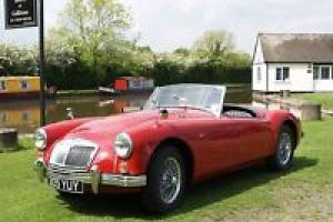 1956 MGA Roadster Bright Red