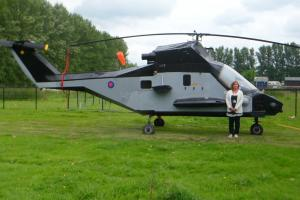 FULL SIZE S3 MONGOOSE RESEARCH HELICOPTER