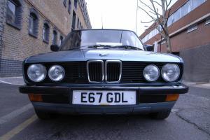 1987 BMW 518I BLUE E28 LUX