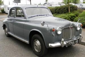 1963 Rover P4 110
