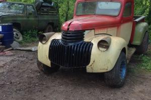 1946 CHEVY TRUCK WITH 305 ENGINE AND UK REG.. Photo