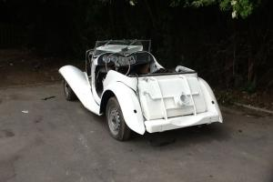 MG TD 1953 Barn Find Project