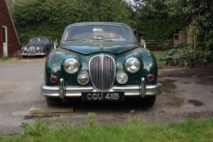 Two 3.4 Mark 2 Jaguars (with additional parts) for restoration