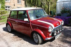Classic Rover Mini Cooper MPi Sportspack Plus 1998 Nightfire Red/Diamond White